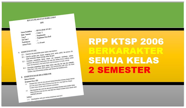 Download RPP dan Silabus KTSP SD