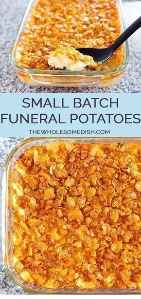 Small Batch Funeral Potatoes
