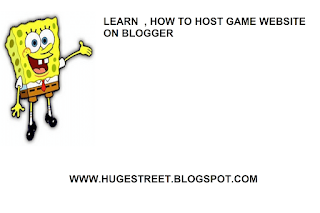 How to Host Game Website on Blogger