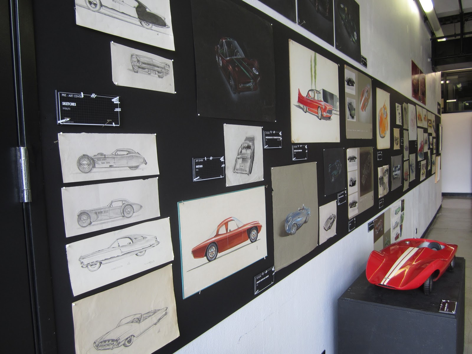 Covering Classic Cars The Art Center Car Classic In