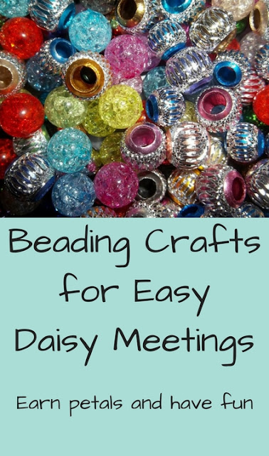 Earn Daisy Petals With Easy Girl Scout Beading Crafts