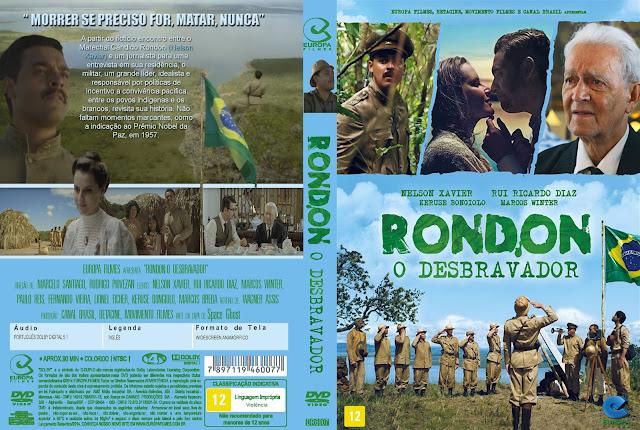 Capa DVD Rondon O Desbravador