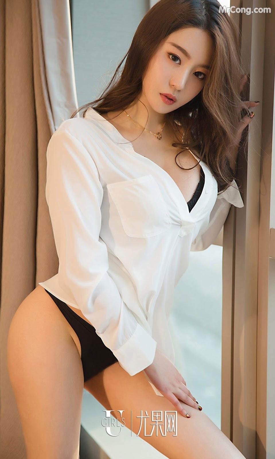 Image UGIRLS-Ai-You-Wu-App-No.1355-Zhong-Qing-MrCong.com-005 in post UGIRLS – Ai You Wu App No.1355: Người mẫu Zhong Qing (钟晴) (35 ảnh)