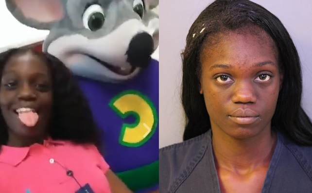 Markesha Wilkerson at Chuck E. Cheese's