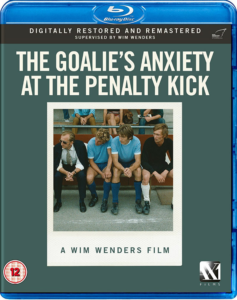 THE GOALIE'S ANXIETY AT THE PENALTY KICK blu-ray