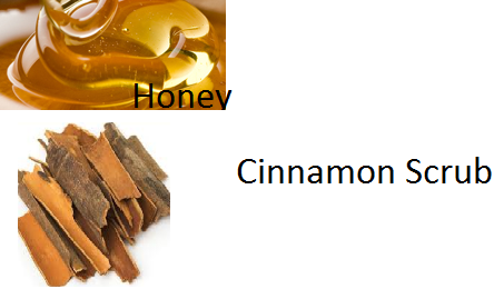 Honey and Cinnamon Scrub Basic Homemade Facial Scrubs