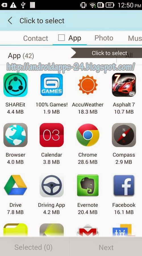 download app sharing