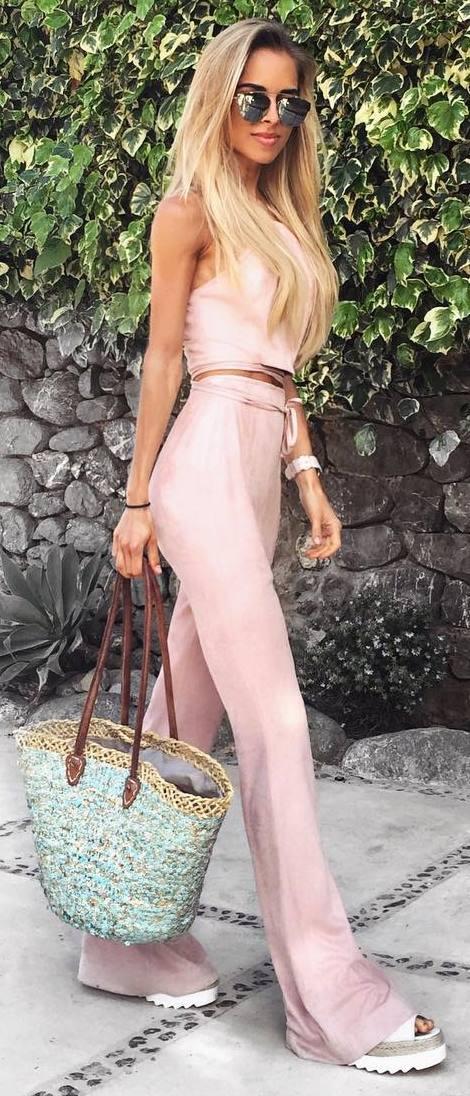 all blush everything: beautiful set + bag