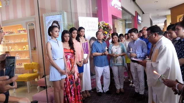Blushing Beauty SM Mall of Asia Grand Opening