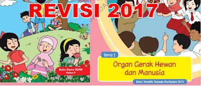 Download Buku Guru dan Siswa Kelas V MI/SD Kurikulum 2013 Revisi 2017