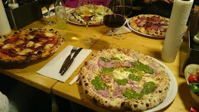 Pizza im 485° in Köln