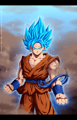 Son Goku Super Saiyan Blue