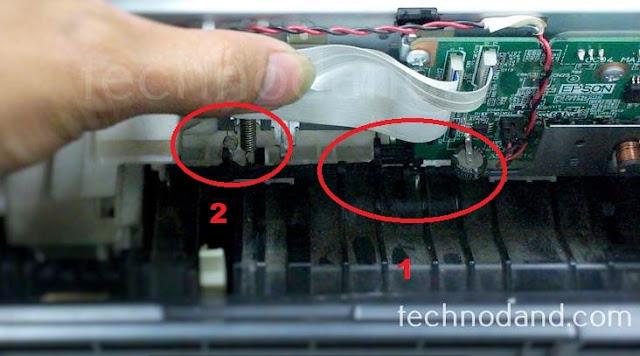 Perbaikan Printer Epson L220 Error Blinking Paper Jam