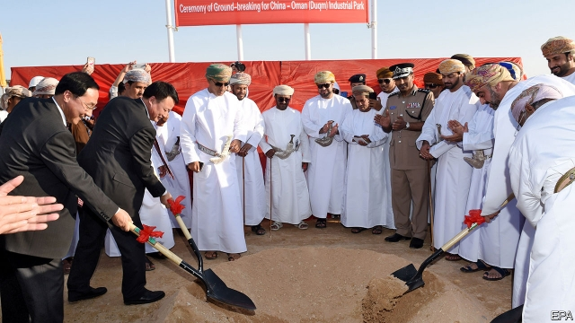 Chinese money is behind some of the Arab world's biggest projects