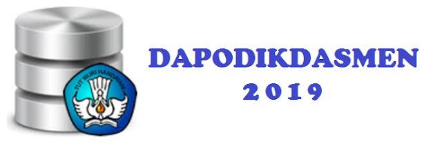 Dalam rangka mempersiapkan database Dapodikdasmen utk kegiatan BOS tahun  SINKRONISASI DAPODIK SEMESTER 1 2018/2019 SAMPAI DENGAN TANGGAL 31 JANUARI 2019