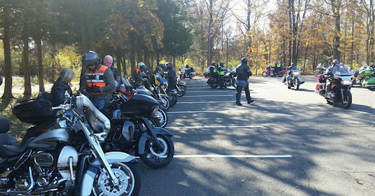 Polar Bear Grand Tour Motorcycle Run to The Eagles, Bridgewater, NJ, on November 11, 2018