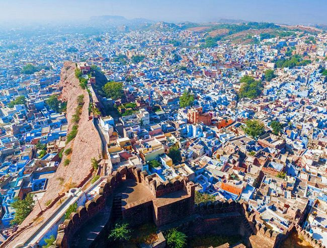 Jodhpur-blue-city-Rajasthan facts in Hindi