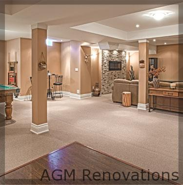 the average cost to finish a basement renovation