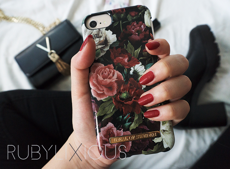 phone case, ideal of sweden, antique roses