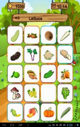 Fruit Find: Game Android Menebak Gambar Buah & Sayuran