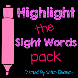 A fun way to practice sight words- perfect as a literacy center!