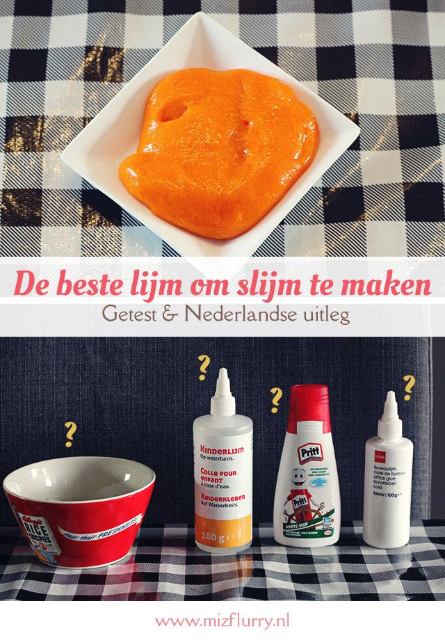De beste lijm om slijm te maken -getest en Nederlandse uitleg