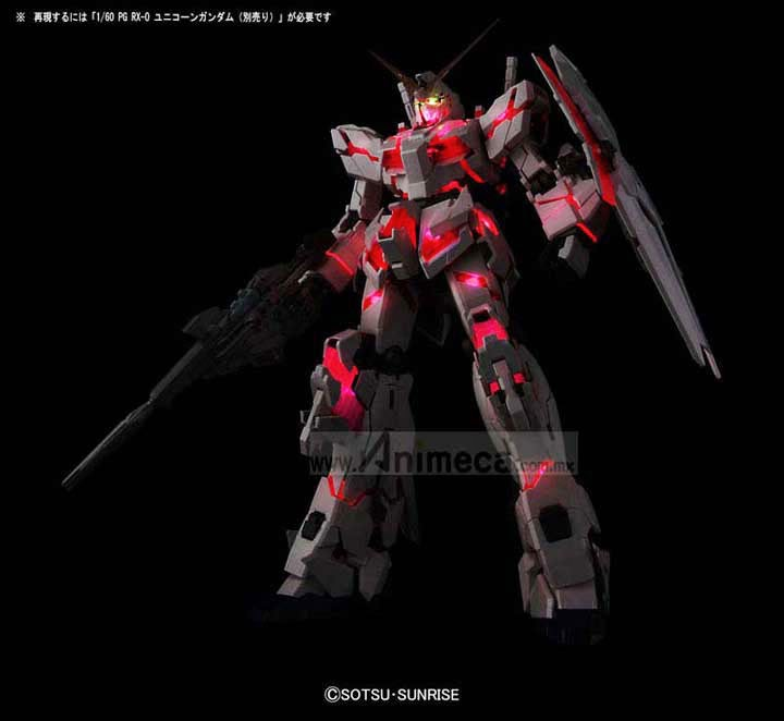 LED UNIT PARA UNICORN GUNDAM PERFECT GRADE (PG) BANDAI