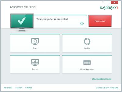 برنامج Kaspersky Free Antivirus