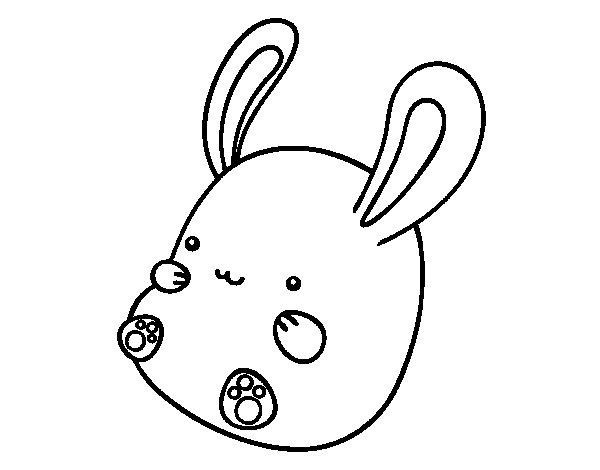 Dibujos De Conejos! Los 50 Conejitos Más Adorables Para Colorear ...