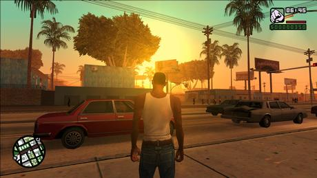 Grand Theft Auto San Andreas Maximum Settings Display Gameplay Screenshots