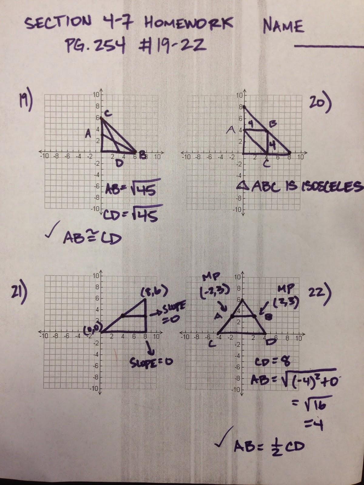 Honors Geometry - Vintage High School: October 2014