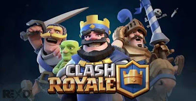 Clash Royale Apk + Mod Gems, Crystals for Android Online Game