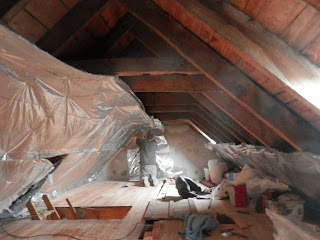 Renovation project - Renovation project - Insulating an old French house