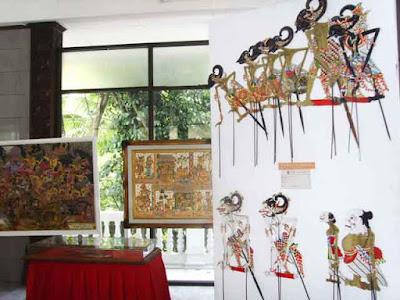 Indonesian wayang museum