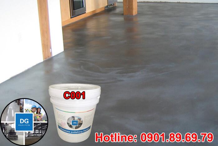 Hóa chất tăng cứng sàn bê tông