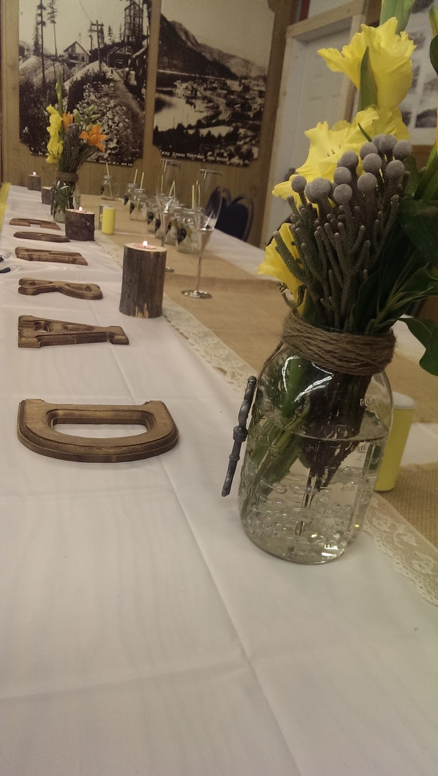 Herling Events Bonnie and Clyde Wedding Party Theme