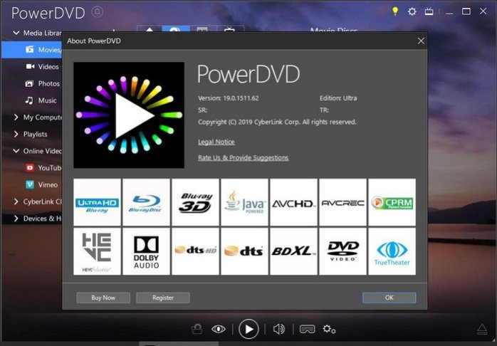 Cyberlink PowerDVD 8 Ultra buy key