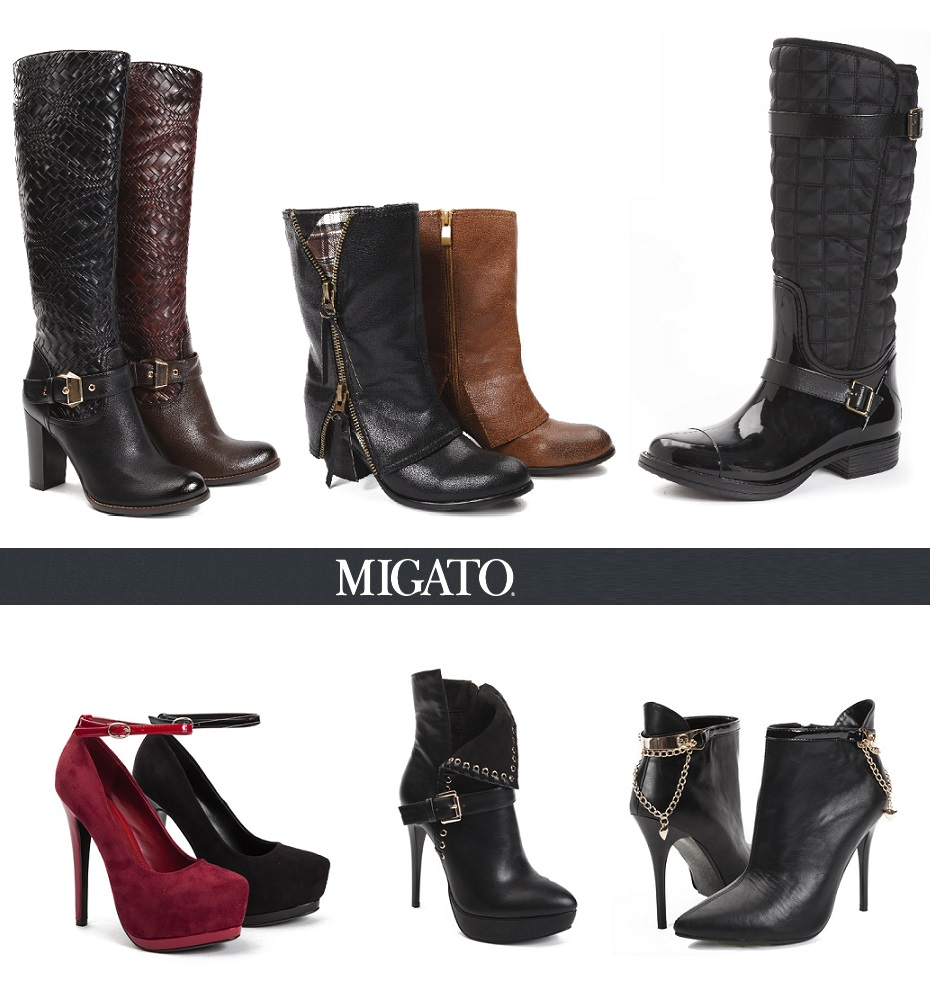 Η νέα συλλογή της MIGATO Φθινόπωρο Χειμώνας 2013-2014 περιλαμβάνει μια  μεγάλη ποικιλία σε μπότες 4e1cef6a038