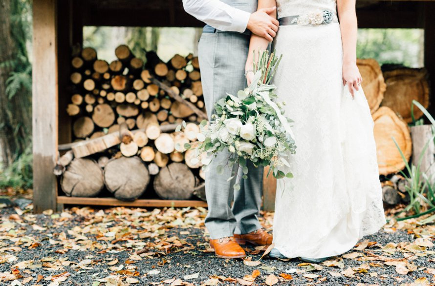 PNW Fall Wedding Photography by Something Minted