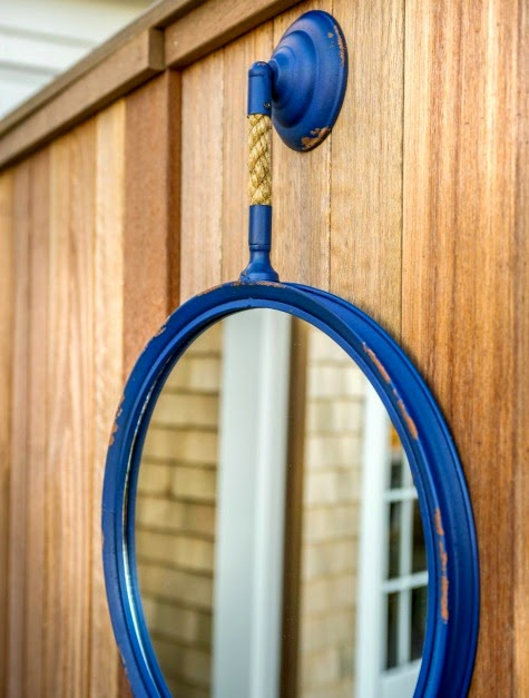 rope mirror outdoor