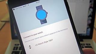 Cara pair Android Wear Anda dengan iPhone iOS