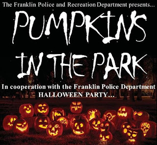 Pumpkins in the Park - Oct 28