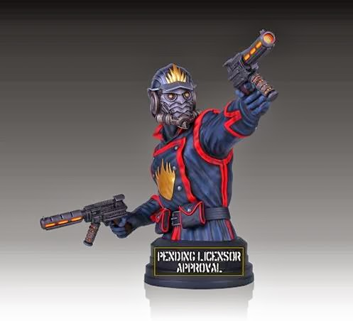 Star-Lord Guardians of the Galaxy Marvel Mini Bust by Gentle Giant