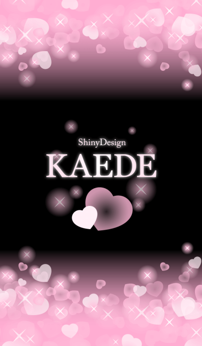 KAEDE-Name-Pink Heart
