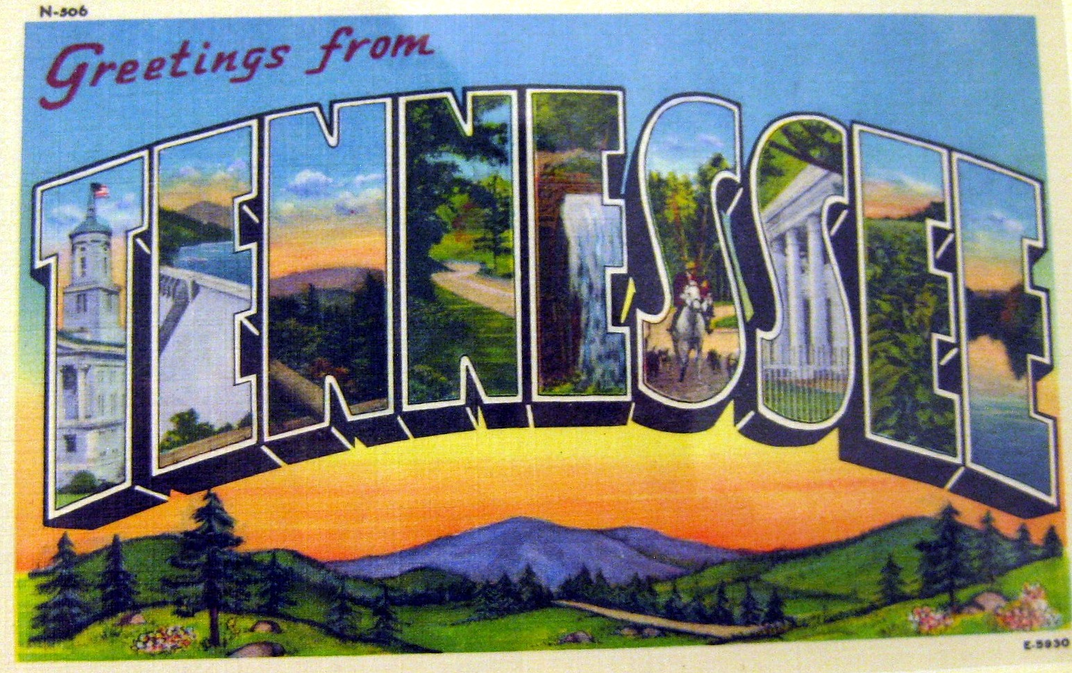 vintage postcards states jpg 1200x900