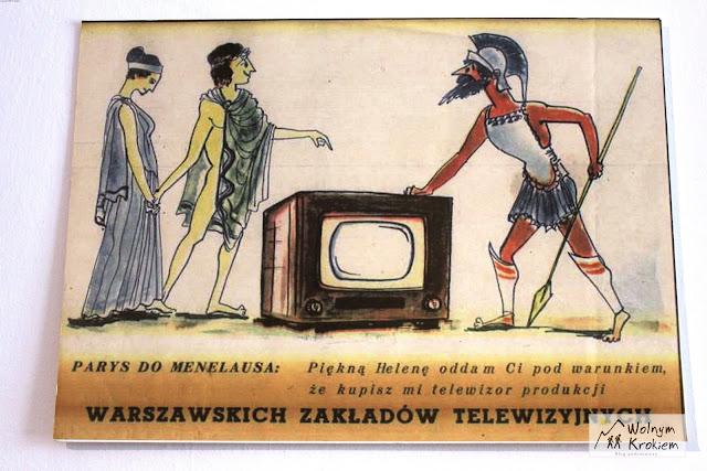 Stare reklamy telewizorów