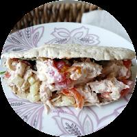 5:2 Diet Lunch Ranch Chicken Pitta 184 calories