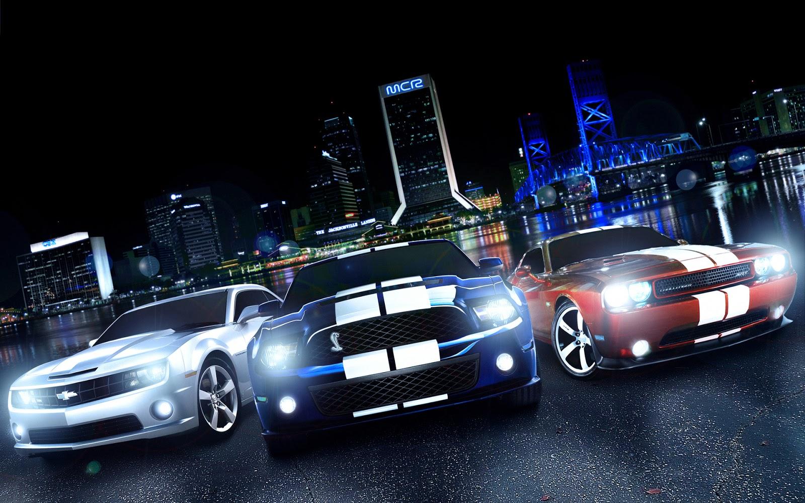 Muscle Car Wallpapers For Desktop: Desktop Wallpapers 1080p: Ford Mustang