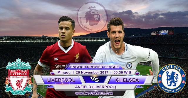 Liverpool vs Chelsea 26 november 2017