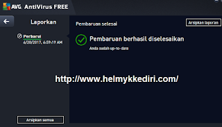 Cara Update Database AVG Secara Offline4